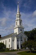 Concord Metal Prints - Trinitarian Church Concord Metal Print by Allan Morrison