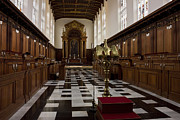 Trinity College Chapel Prints - Trinity College Chapel in Cambridge Print by Kiril Stanchev