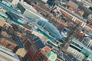 Rooftop Framed Prints - Trinity Shopping Centre Roof Leeds Framed Print by Karl Wilson