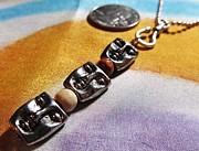 Scarf Jewelry - TRINITY- THE FISHERS OF MEN. Unisex Necklace by Linda Harris-Iorio
