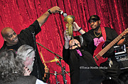 Musicians Photo Posters - Trio Throwdown with Andy Stokes and Patrick Lamb and Randy Monroe Poster by Tonia Noelle