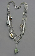 Necklace Jewelry - Triple chain by Mirinda Kossoff