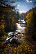Outlook Prints - Triple Falls Print by Penny Lisowski