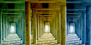 Tunnels Prints - Triple Perspective Print by Ben and Raisa Gertsberg