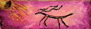 Gazelle Paintings - Triumph by Barbara Cole