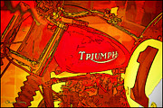 Chuck Staley Photo Framed Prints - Triumph Framed Print by Chuck Staley
