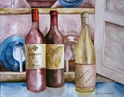 Pinot Noir Originals - Trois vin by Rosalea Greenwood