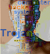 Trojan Mixed Media Posters - Trojan  The Silent Monster Poster by Moustafa Al-Hatter