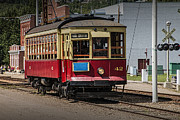 Randall Nyhof - Trolley Car at the Fort Edmonton Museum