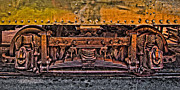 Machinery Photo Posters - Trolley Train Details Poster by Susan Candelario
