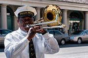 Kathleen K Parker - Trombone Player in French Quarter