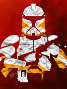 All Star Digital Art Posters - Trooper Poster by Jason Longstreet