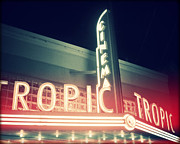 Florida House Photos - Tropic Cinema-Horiz-II by Chris Andruskiewicz
