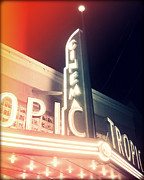 Chris Andruskiewicz Prints - Tropic Cinema-I Print by Chris Andruskiewicz