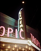 Chris Andruskiewicz Prints - Tropic Cinema-III Print by Chris Andruskiewicz