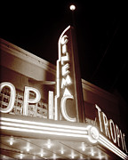 Florida House Photos - Tropic Cinema-IIII by Chris Andruskiewicz