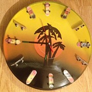 Daniel Jason - Tropic Sunset Clock