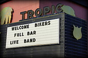 Tropic Theatre Print by Laurie Perry