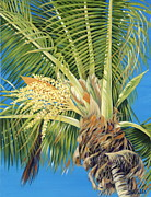 Tropical Bloom Print by Danielle  Perry