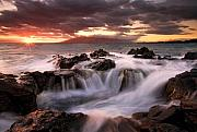 Rocks Photos - Tropical Cauldron by Mike  Dawson