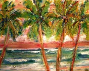 Patricia Taylor - Tropical Color with Palm Trees