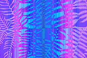 Abstract Digital Art - Tropical Delight by Holly Kempe
