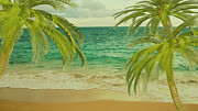 Boutique Art Posters - Tropical Dreams 2 Poster by Cheryl Young