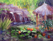 Lily Pond Originals - Tropical Escape by Karin  Leonard