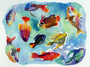 Lydia Irving - Tropical Fishes