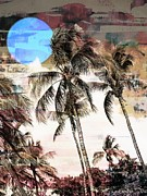 Seas Digital Art - Tropical Island by Athala Carole Bruckner