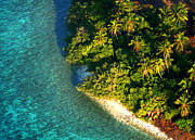 Jenny Rainbow - Tropical Island from Above. Aerial Journey over Maldives
