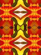 Tropical Leaf Pattern  11 Print by Amy Vangsgard