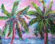 Patricia Taylor - Tropical Palm Sketch