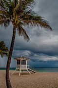 Stormy Weather Posters - Tropical Paradise Poster by Mike Burgquist