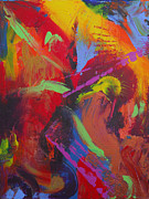 Tropical Painting Originals - Tropical Punch by Donna Blackhall