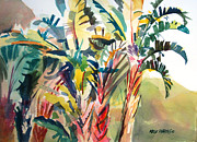 Bird Of Paradise Paintings - Tropical Punch by Kris Parins
