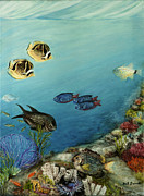 Under The Ocean Originals - Tropical Reef Fish by Gail Darnell