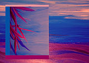 Fushia Prints - Tropical Sunrise by jrr Print by First Star Art