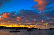 Fototrav Print - Tropical sunset