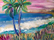 Patricia Taylor Art - Tropical Sunset by Patricia Taylor