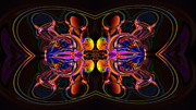 Generative Abstract Prints - Troubling encounter Print by Claude McCoy