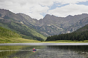 Gore Range Prints - Trout Haven Print by RJ Martens
