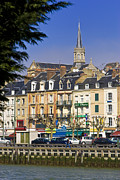 Calvados Framed Prints - Trouville Calvados Normandy France Framed Print by Jon Boyes