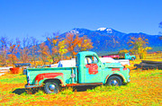 Kerry  Bennett - Truck and Taos Mountain
