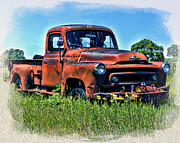 William Havle - Truck In The Grass