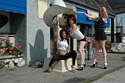 Prostitute Prints - Truck Stop Girls - 366 Print by Liezel Rubin