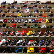 Miniatures Art - Trucks by Claude Oesterreicher