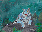 Dated Originals - True Blue Tiger by Ron Thompson