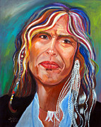 American Singer Paintings - True Colors by To-Tam Gerwe