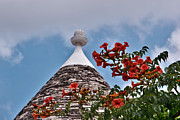 Colors Photos - Trullo in Alberobello by Renzo Re